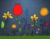 Fleurs de forêt
