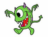Monster avec un œil