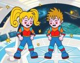 Enfants astronautes