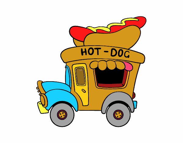 Food truck de hot-dog