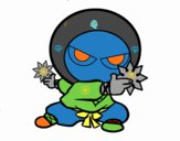 Garçon ninja