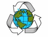 Monde de recyclage