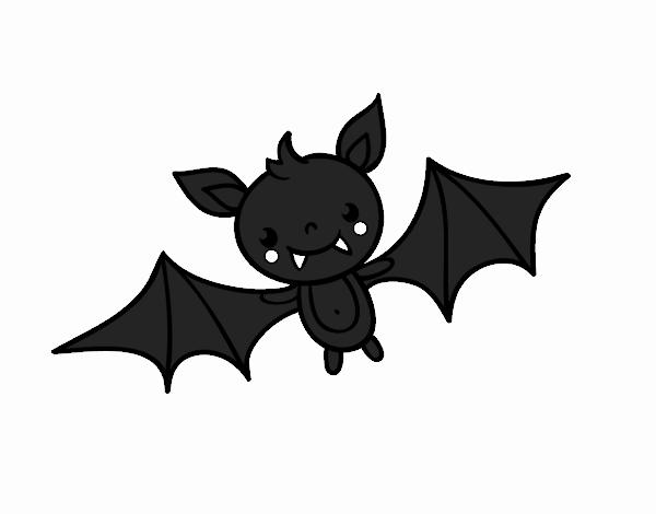 dessin de chauve souris halloween colorie par membre non inscrit le 04 de avril de 2018. Black Bedroom Furniture Sets. Home Design Ideas