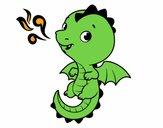 Un bébé dragon