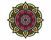 Mandala points de feu