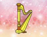 Une harpe