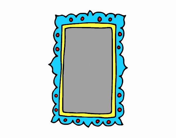 Dessin de miroir mural colorie par membre non inscrit le - Miroir mural salon ...