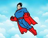 Superman en vol