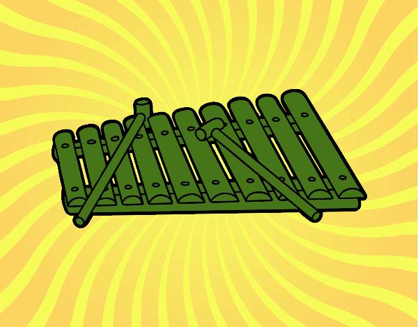 Dessin De Un Xylophone Colorie Par Membre Non Inscrit Le 15 De