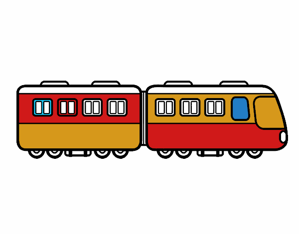 Dessin De Wagons De Train Colorie Par Membre Non Inscrit Le 05 De Octobre De 2019 A Coloritou Com