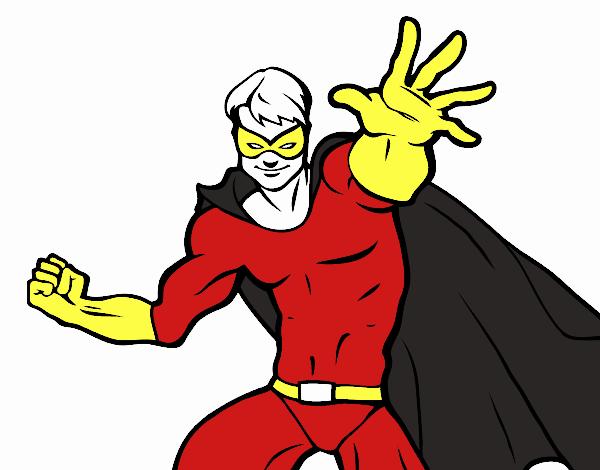 Dessin De Super Heros Masque Colorie Par Membre Non Inscrit Le 21 De Octobre De 2019 A Coloritou Com