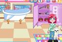 Amy dans l'animalerie