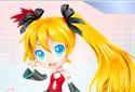Jouer au Habiller Hatsune Miku de la catégorie Jeux pour les filles