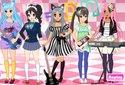 Jouer au Rock dress-up de la catégorie Jeux pour les filles