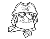 <span class='hidden-xs'>Coloriage de </span>Chefs pirate à colorier