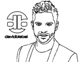<span class='hidden-xs'>Coloriage de </span>David Bisbal à colorier