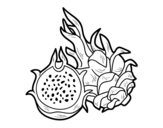 <span class='hidden-xs'>Coloriage de </span>Fruit de la passion à colorier