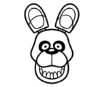 <span class='hidden-xs'>Coloriage de </span>Golden Freddy de Five Nights at Freddy's à colorier