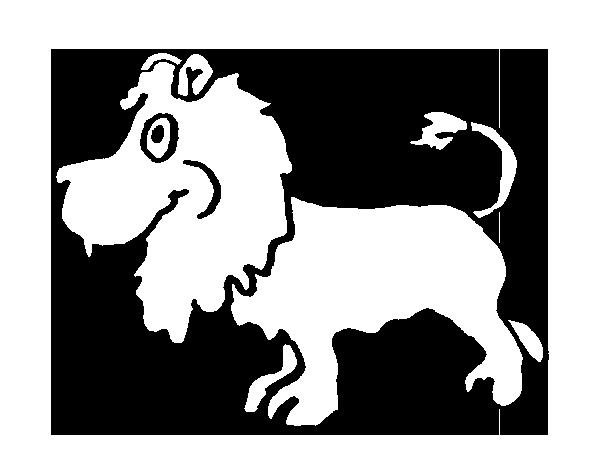 Coloriage De Lion De Profil Pour Colorier Coloritou Com