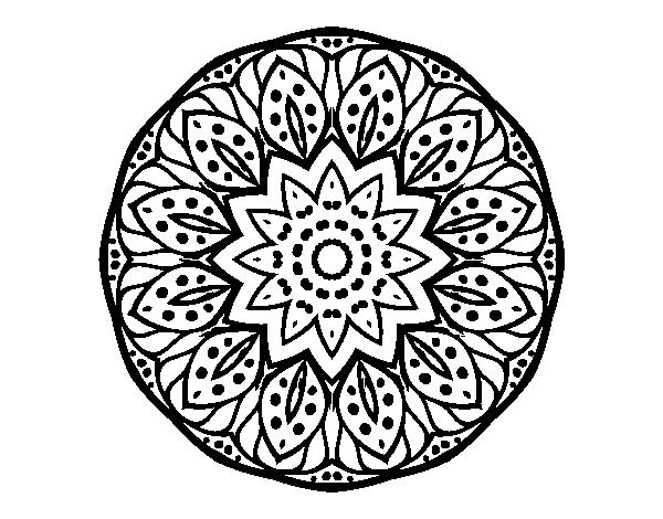 Coloriage Mandala Nature.Coloriage De Mandala Nature Pour Colorier Coloritou Com