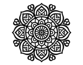 <span class='hidden-xs'>Coloriage de </span>Mandala pour la concentration mental à colorier