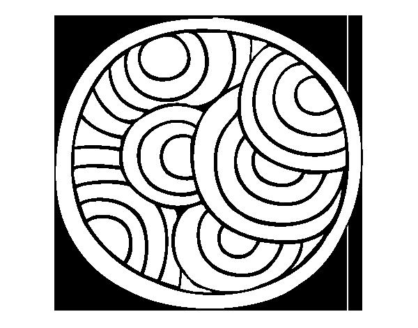 Coloriage Mandala Rond.Coloriage De Mandala Ronde Pour Colorier Coloritou Com