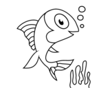 <span class='hidden-xs'>Coloriage de </span>Poisson de mar à colorier