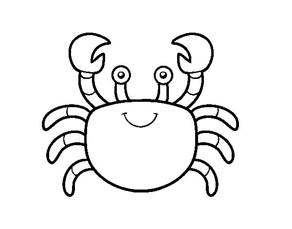 Coloriage Crabe Dauphin.Coloriage De Un Crabe Pour Colorier Coloritou Com
