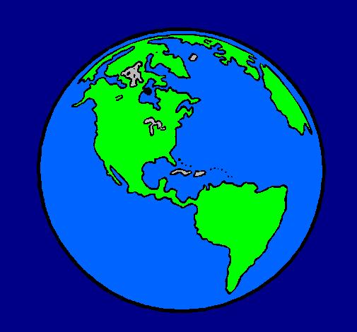 Dessin De Planete Terre Colorie Par Membre Non Inscrit Le 06 De