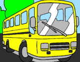 Coloriage Bus colorié par NATHANl