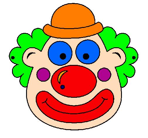 Dessin de Clown colorie par Membre non inscrit le 30 de ...