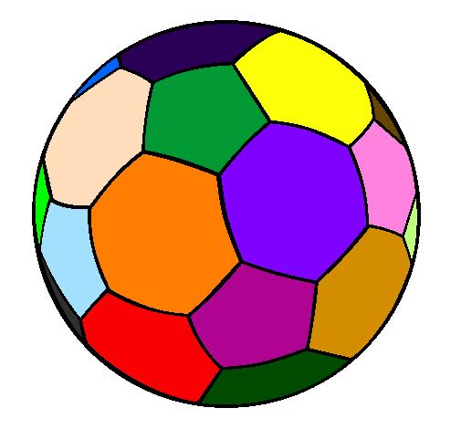 Dessin de Ballon de football II colorie par Membre non ...