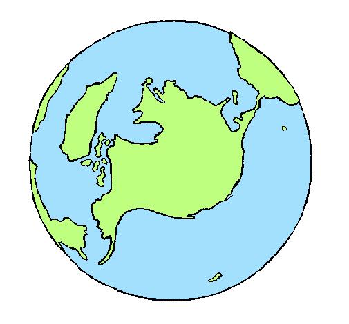 Dessin de Planète Terre colorie par Membre non inscrit le ...