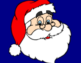Coloriage santa claus colorié par THOMAS D