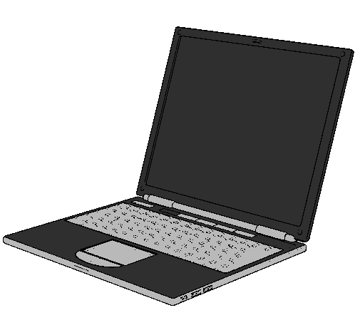 ordinateur portable colorie par nicholas mendonca