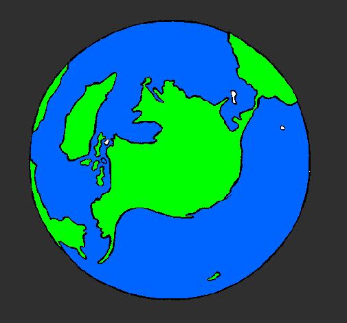 Dessin De Planete Terre Colorie Par Membre Non Inscrit Le 09 De