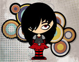 Coloriage Look Emo colorié par agatha55