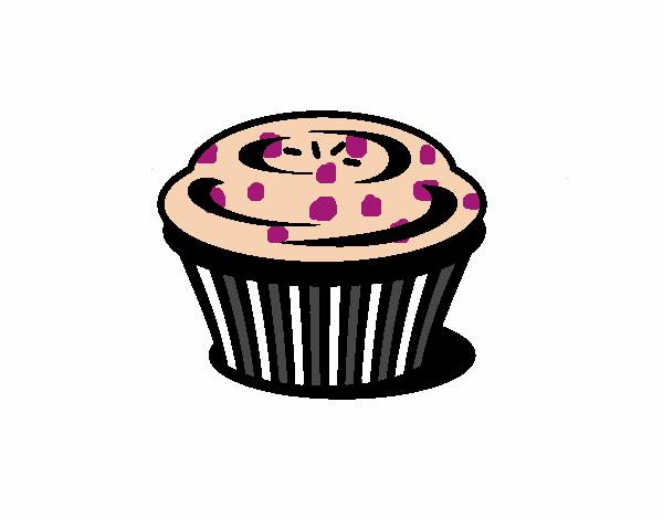 Dessin de Muffin colorie par Membre non inscrit le 18 de ...