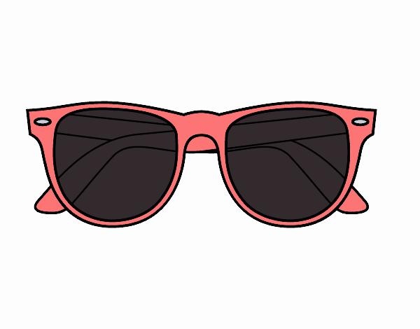 Dessin Lunettes De Soleil dessin de lunettes de soleil colorie par membre non inscrit le 11 de