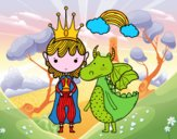 Prince et dragon