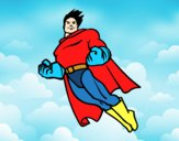 Superman en vol