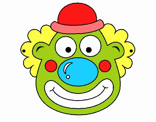 Dessin De Clown Colorie Par Membre Non Inscrit Le 06 De Mars De