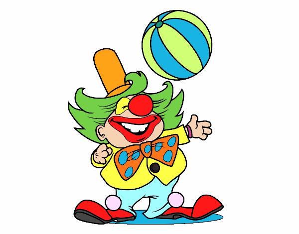 Dessin De Bas Clown Colorie Par Membre Non Inscrit Le 01 De Avril