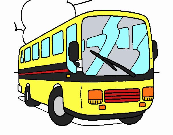 Dessin de Bus colorie par Membre non inscrit le 05 de Décembre de ...