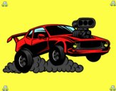 Sportif muscle car