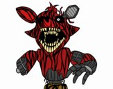 Foxy terrifiante de Five Nights at Freddy's